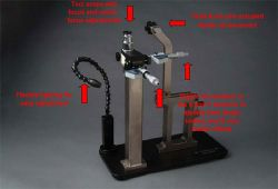 IP/QP feeder calibration fixture master jig